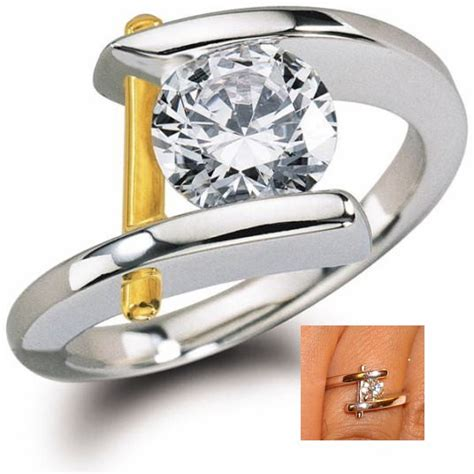 unique solitaire wedding rings for fashion belief