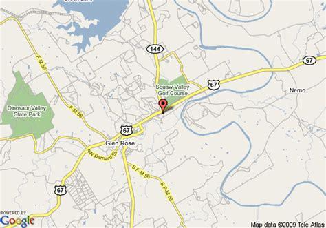 where is glen texas on a map map of inn express hotel suites glen glen