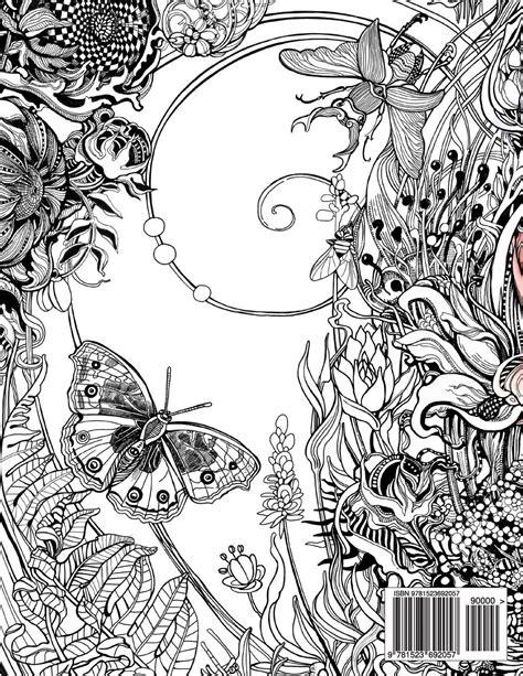 manic botanic zifflins coloring manic botanic zifflins coloring book on doodle chaos zifflins coloring book volume paperback