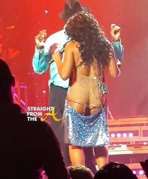 Toni Braxton Wardrobe by Wardrobe Toni Braxton Bares A Ssets Live
