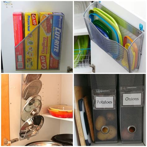 13 brilliant kitchen cabinet organization ideas glue