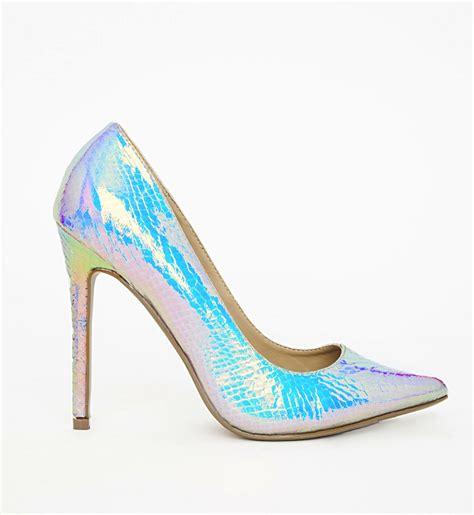 Shoegasm: Missguided Holographic Stiletto Pumps   Ooh La
