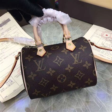 louis vuitton nano speedy bag monogram canvas