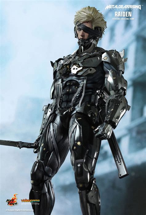 Kaos Raiden Metal Gear Rising toys metal gear rising revengeance raiden 1 6th scale collectible figure stuffs