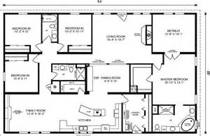 5 bedroom modular homes floor plans manufactured home floor plans florida