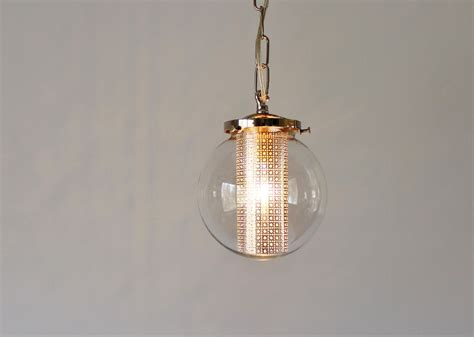 Modern Globe Pendant Lighting Globe Pendant Light Modern Hanging Pendant L Clear Glass