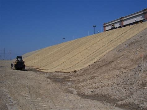 file erosion control blankets being installed along a steep slope jpg minnesota stormwater manual