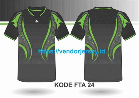 desain kaos futsal depan belakang terbaru vendor jersey