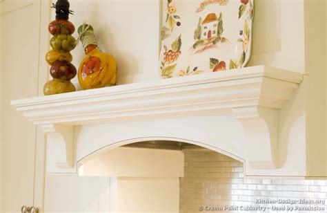 Kitchen Mantel Ideas Pictures Of Kitchens Traditional White Kitchen Cabinets Kitchen 124