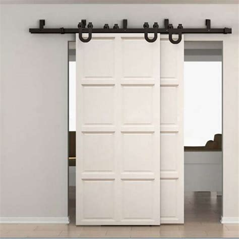 Sliding Bypass Door Hardware by Bypass Sliding Barn Door Hardware 4882 Home Center Outlet