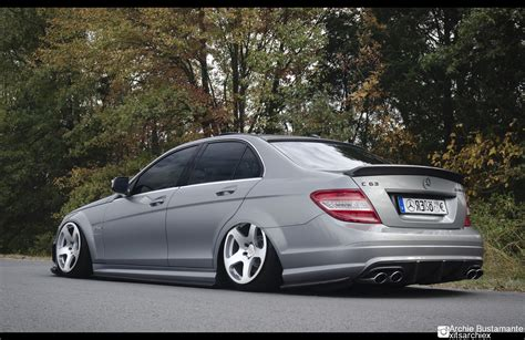 bagged mercedes amg bagged mercedes benz w204 c63 amg stancenation accuair