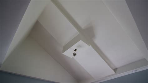 vaulted ceiling fan box electrical can we safely hang a ceiling fan from our