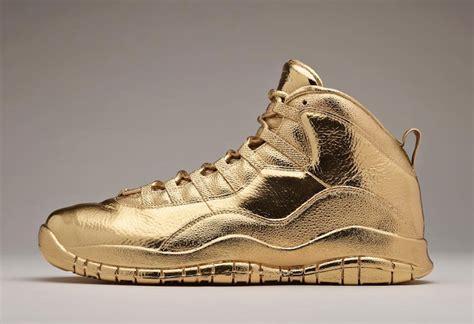 gold jordan wallpaper drake 24k gold air jordan 10 ovo sneaker bar detroit