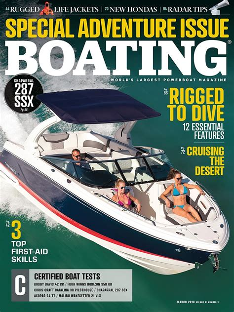 boating magazine free subscription boating magazine march 2018 edition texture unlimited