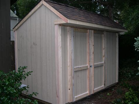 Saltbox Style Shed by Shed Blueprints Backyard Shed Plans Saltbox Roof Style Shed