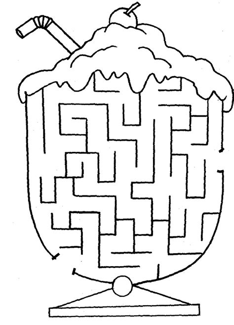 Printable Easy Mazes For Toddlers | 28 free printable mazes for kids and adults kitty baby love