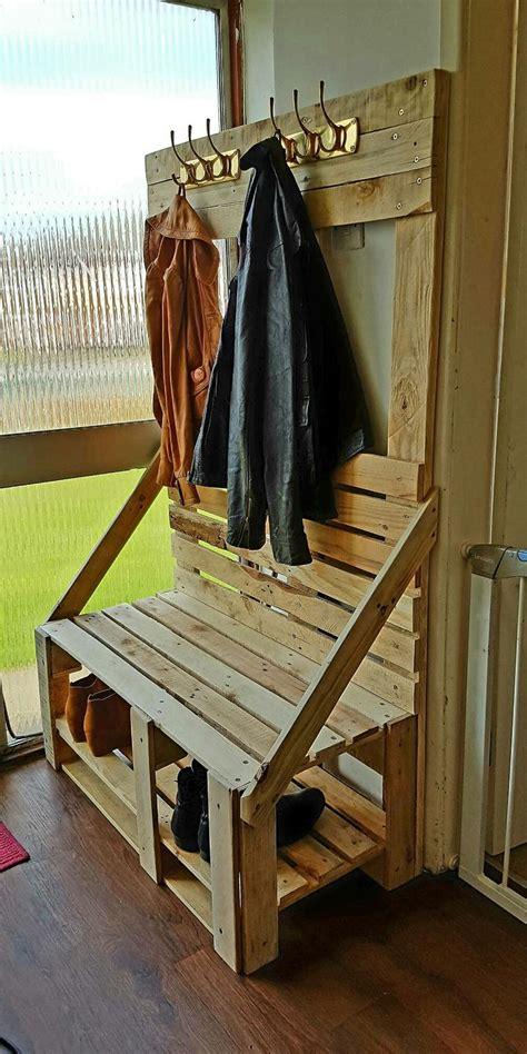 shoe bench with coat rack best 25 coat rack with bench ideas on pinterest coat