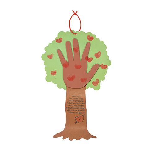 trading crafts tree thumbprint poem craft kit trading