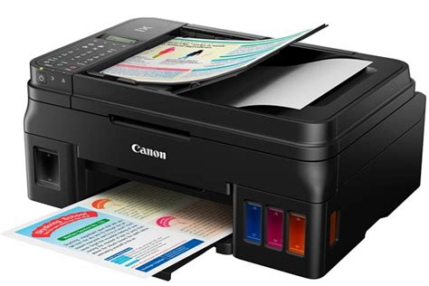 Printer Canon G4000 Canon Introduces New Pixma Ink Efficient G4000 Printer Hardwarezone Ph