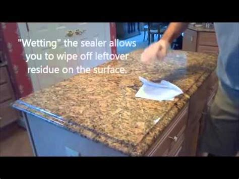 Do I Need To Seal Granite Countertops by How To Properly Seal Granite Countertops