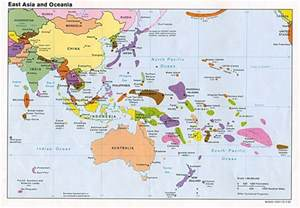 Map Of Asia Pacific by Reference Map Of East Asia And The Pacific Islands