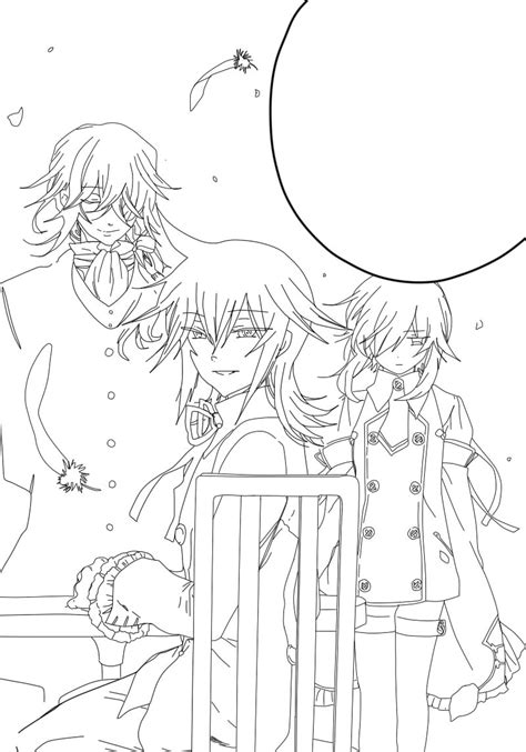 pandora hearts coloring pages pandora hearts outline by yumetsukai182 on deviantart