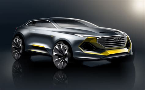 Audi Q1 Audi Q1 Rendering Depicts A Subcompact Coupe Crossover
