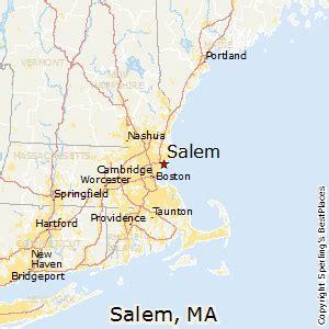 us map salem best places to live in salem massachusetts