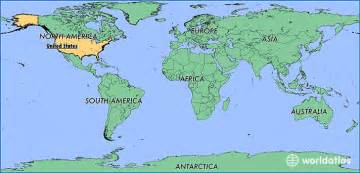united states on a world map where is the united states of america where is the