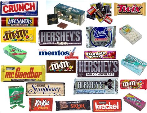 pics for gt types of chocolate names