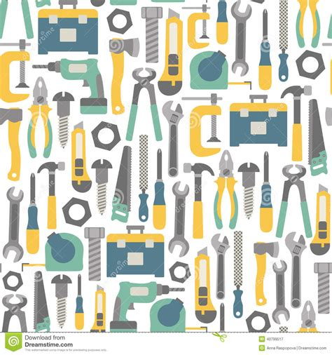 design free tools tools pattern stock photo image 40799517