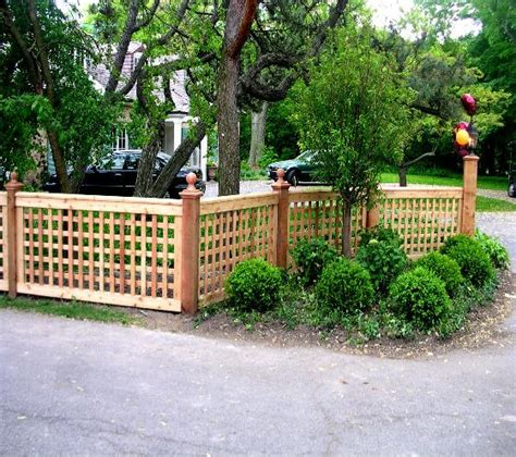 Front Garden Fencing Ideas Front Yards Fence And Yards On