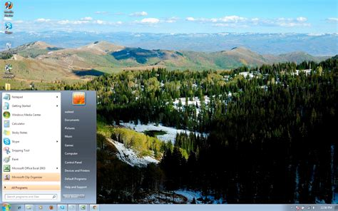themes for windows 7 landscapes dualscreen landscape 19 windows 7 theme by windowsthemes