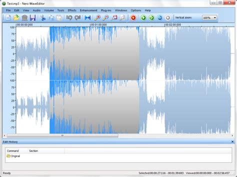 nero video editing software free download full version nero wave editor download