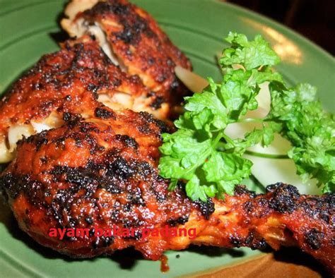latar belakang membuat usaha ayam bakar bumbu ayam bakar padang spesial resep gaweenak