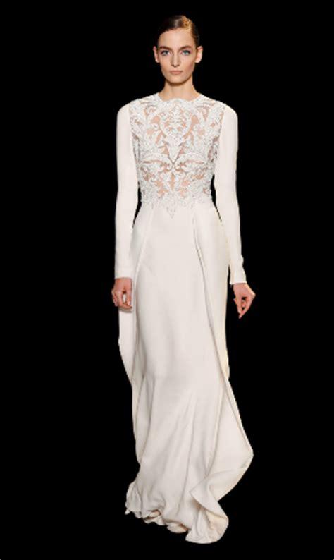 Hochzeitskleid Kurz Langarm by Elie Saab Brautkleider 2013 Spitzenkleider