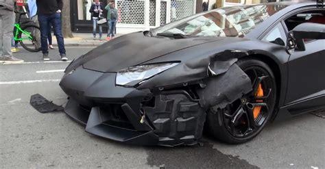 lamborghini reventon crash lamborghini aventador crash dying