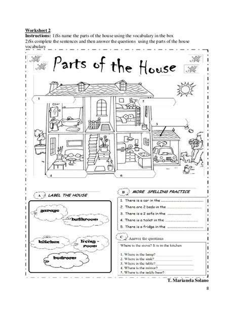 parts of the house lesson plan parts of the house lesson plan 28 images 7 homeschool