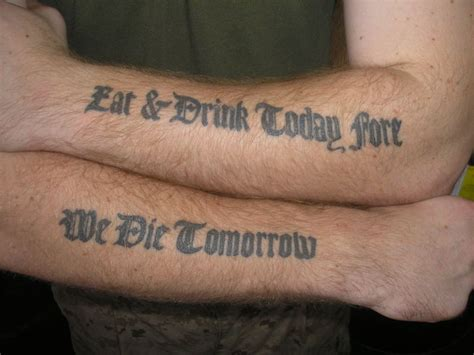 military quote tattoos gulf skin and navy regulations babylon