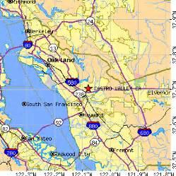 castro valley california map castro valley california ca population data races