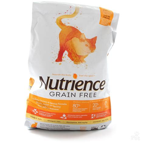 food grain free nutrience grain free chicken turkey herring cat food