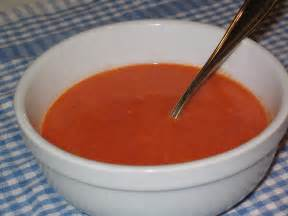low carb way of tomato soup