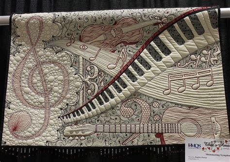 Quilt Pattern Music Notes | shimmering symphony by karlee porter one of the best