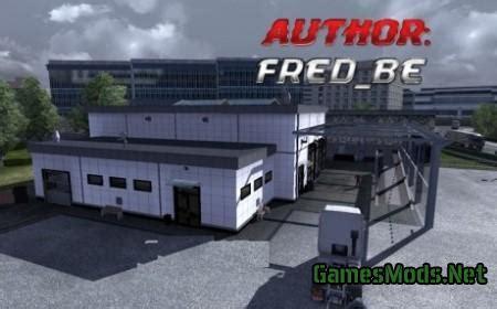 large garage large garage spt service ets2 version 1 22 xx map symbols 187 gamesmods net fs17 cnc fs15 ets 2 mods