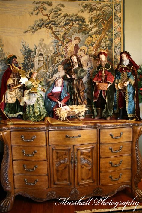 large nativity scene nativity scenes pinterest