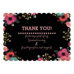 graduation thank you photo cards zazzle