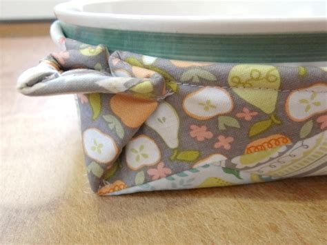 Sewing Pattern Bowl Holder | microwave bowl potholder