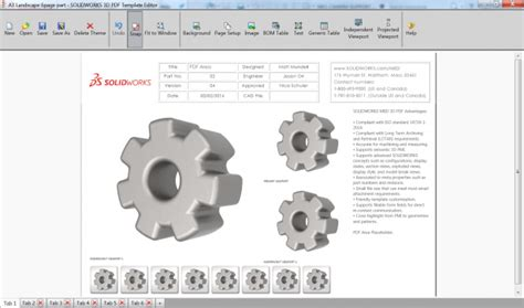 Mbd Implementation Dos And Don Ts Customize And Standardize Templates Solidworks 3d Pdf Template