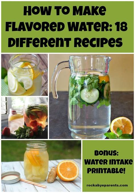 Different Flavored Detox Water by Best 25 Water Schedule Ideas On