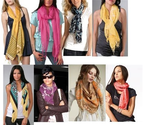 different styles to wear scarf this summer n fashion
